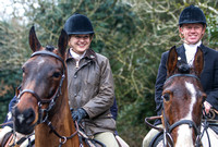 WEST WICKLOW FOXHOUNDS, DARKERS, FEBRUARY 25th