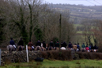 Co Clare Foxhounds @ Ballynacally. January 13th 2011